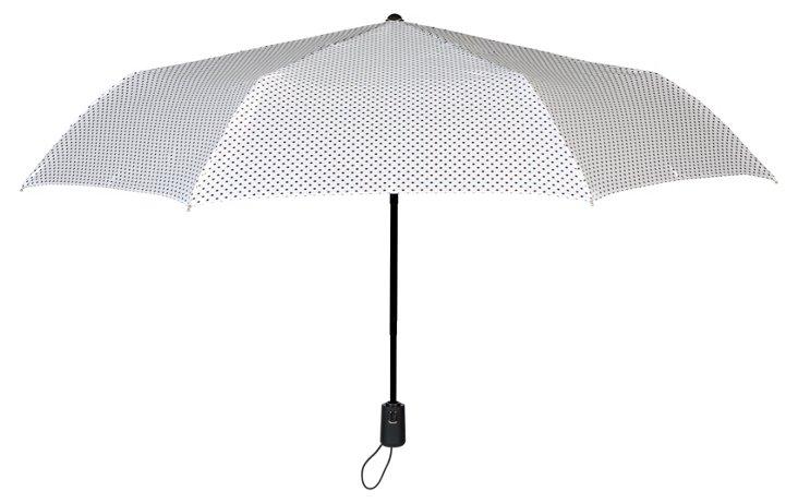 Manhattan Umbrella, Metallic Dots
