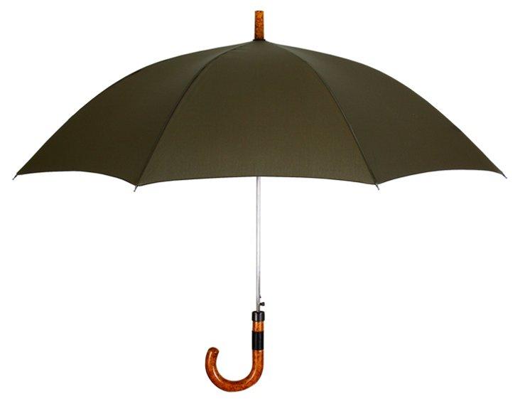 Executive Cane Umbrella, Olive