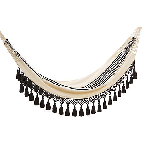 Aguadas Hammock, Natural/Black