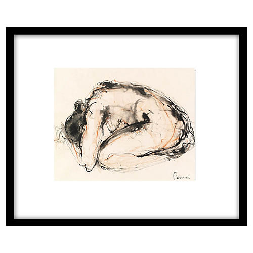 Bella Pieroni, Dancer Resting I