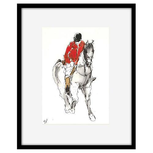 Bella Pieroni, Equestrian VIII