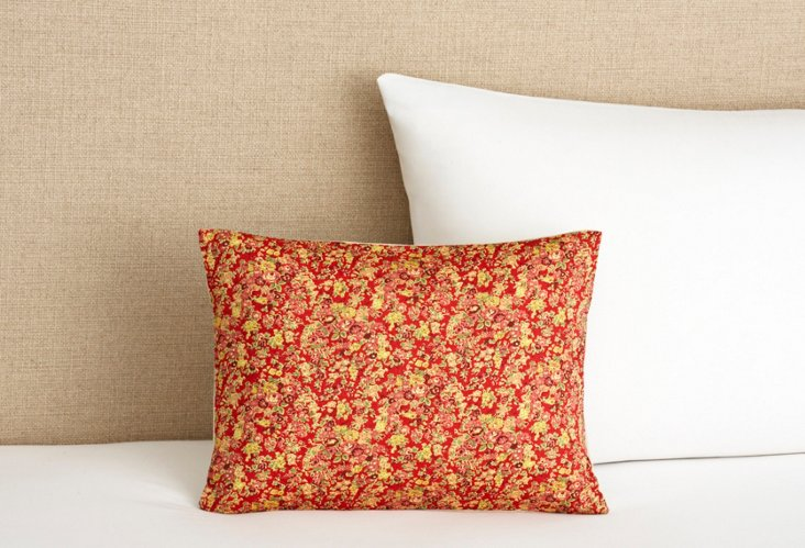 Cute and Stylish Pillow, Red