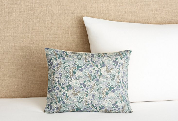 Cute and Stylish Pillow, Blue