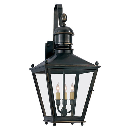 Sussex Bracket Lantern, Bronze
