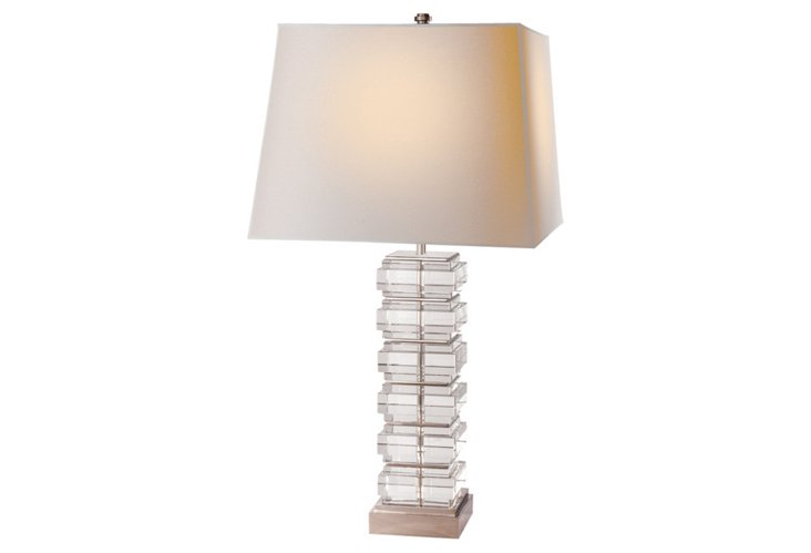 Square Stacked Table Lamp