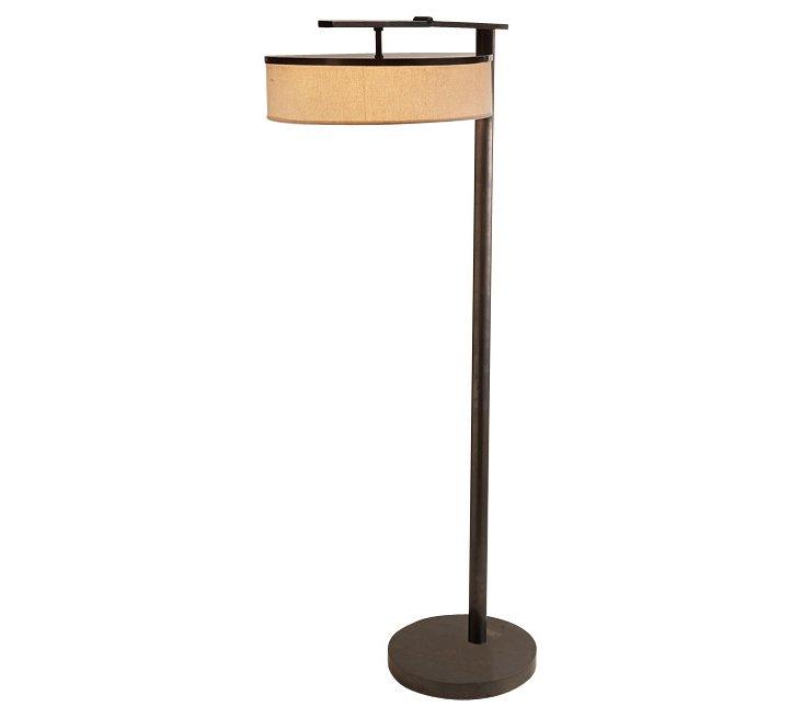 Linen Shade Floor Lamp
