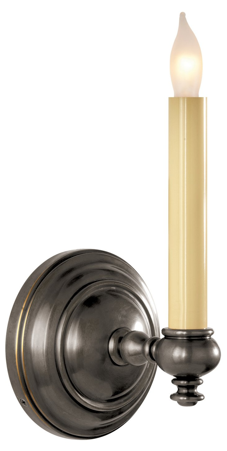 Hobbs 1-Light Sconce, Bronze