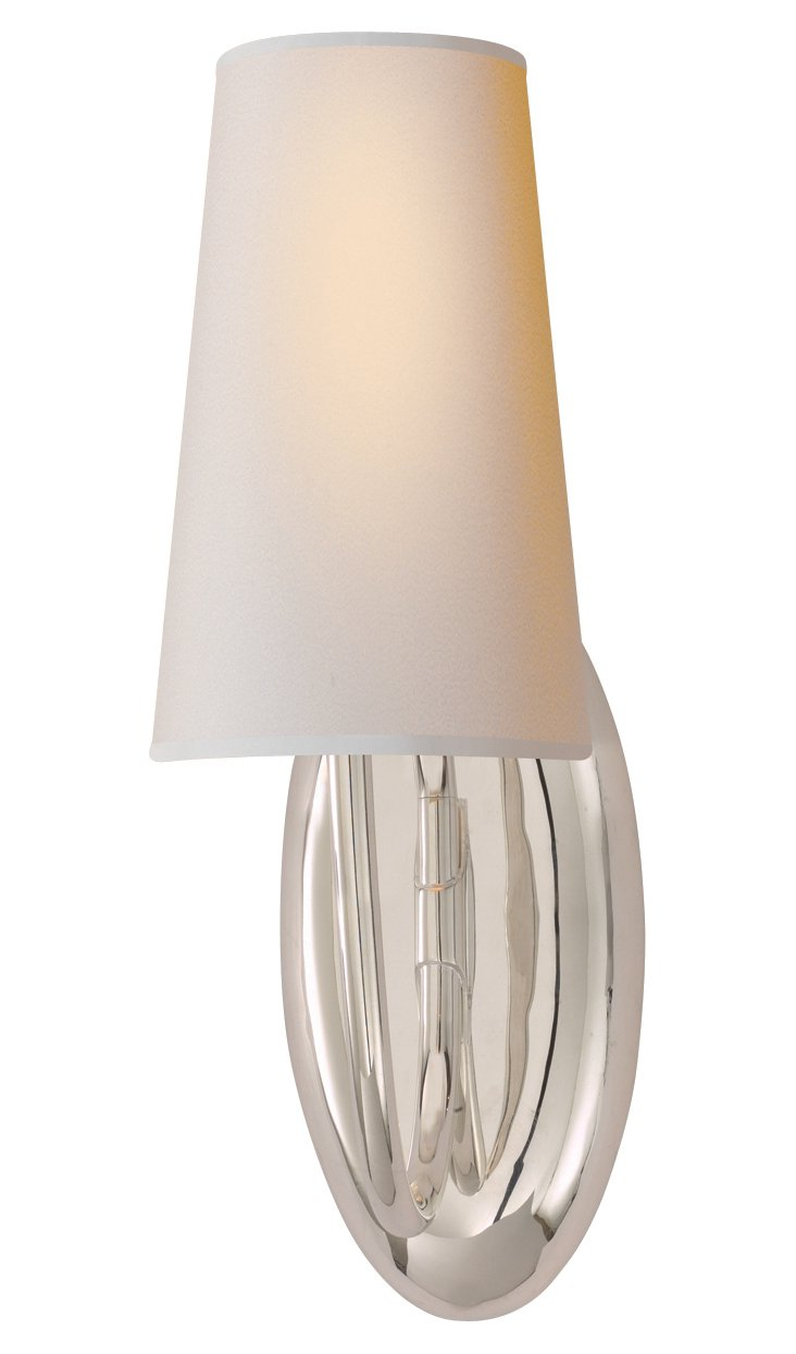 Selecta Sconce, Polished Silver