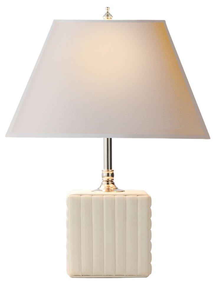 Hattie Accent Lamp, White