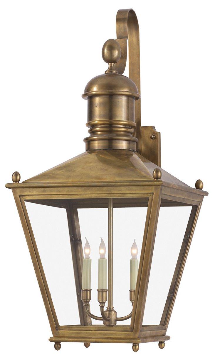 Sussex 3-Light Wall Lantern, Large