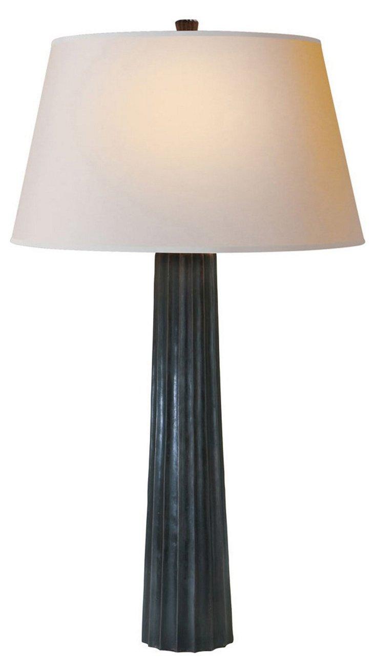 Spire Table Lamp, Bronze
