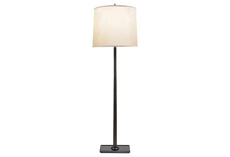 Petal Floor Lamp, Bronze