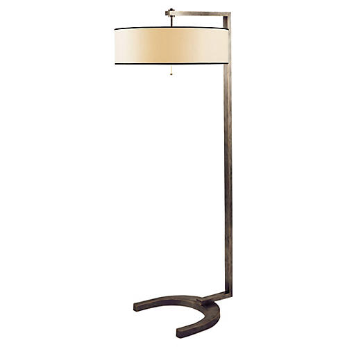 Hudson Floor Lamp, Bronze
