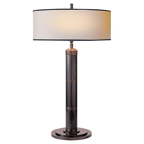 Longacre Tall Table Lamp, Bronze