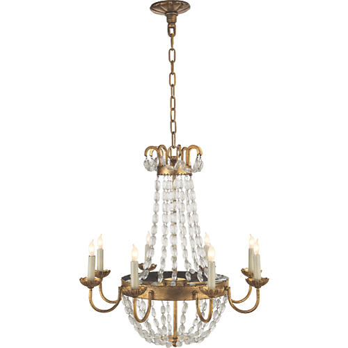 St. Germain Iron Chandelier