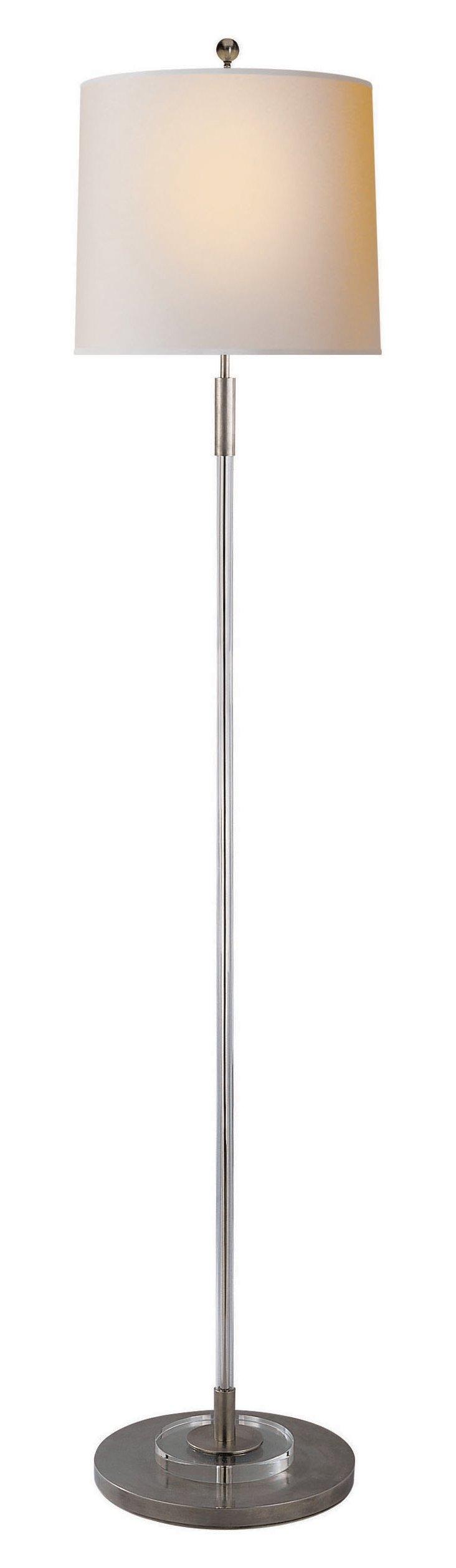 Giorgio Floor Lamp, Antiqued Nickel