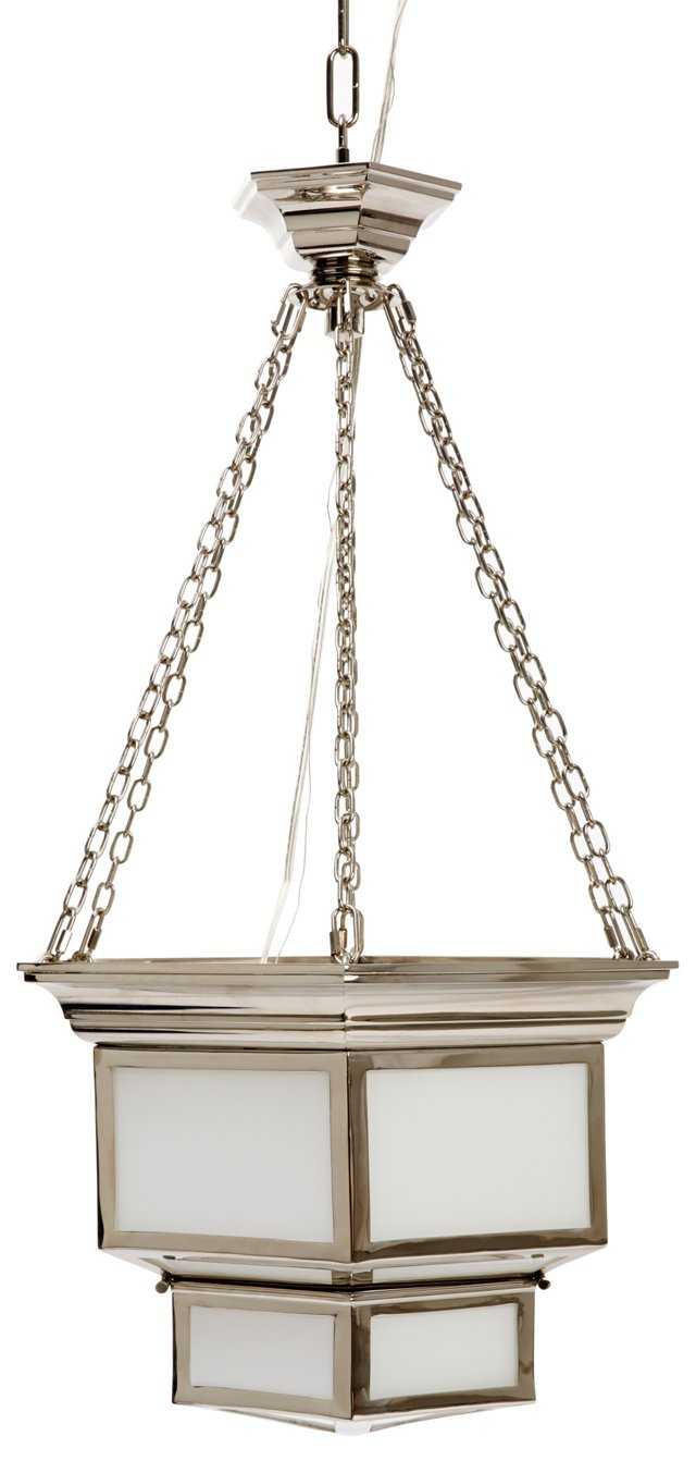 Cornice 2-Light Hanging Lantern, Large