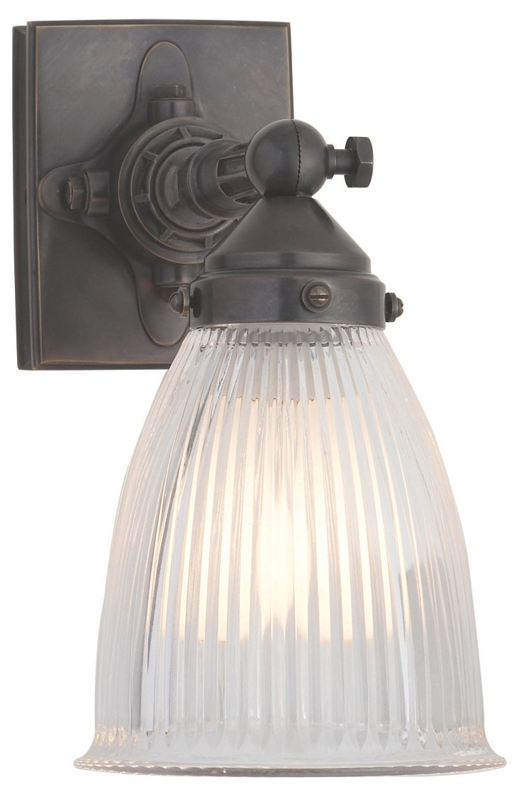 Garey 1-Light Pivoting Sconce, Bronze