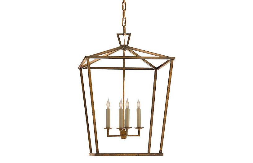 Darlana Lantern, Gilded Iron