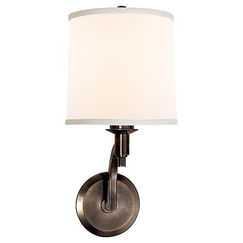 Westport 1-Light Sconce, Bronze
