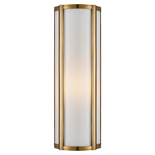 Basil Single Sconce, Brass