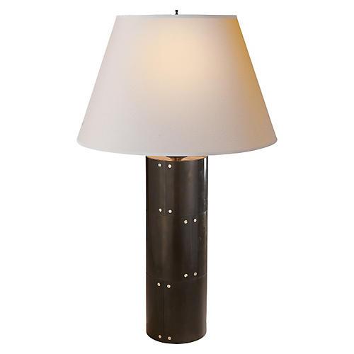 Yul Table Lamp, Gunmetal