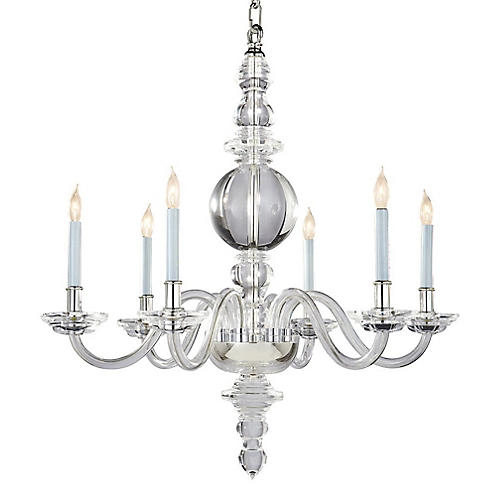 George II Chandelier, Crystal