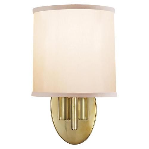 Graceful 1-Light Sconce, Brass