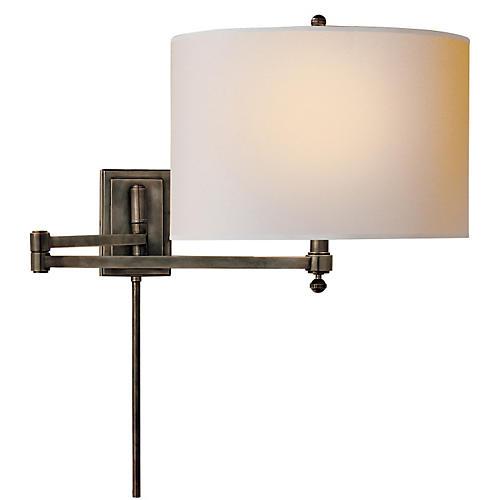 Hudson Swing Arm, Bronze