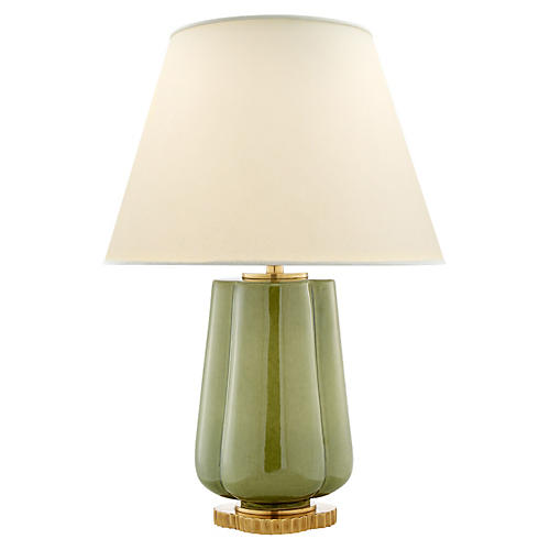 Eloise Table Lamp, Green