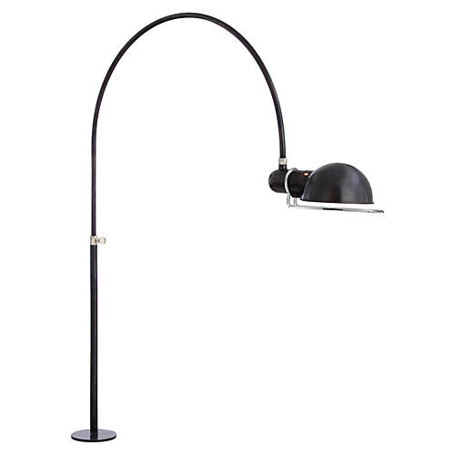 Elkins Desk Mounted Lamp, Bronze