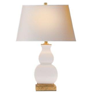 Wonderful Fang Gourd Table Lamp, Ivory Crackle   Table Lamps   Table U0026 Floor Lamps    Lighting   One Kings Lane