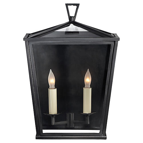 Darlana Two-Bulb Outdoor Wall Lantern