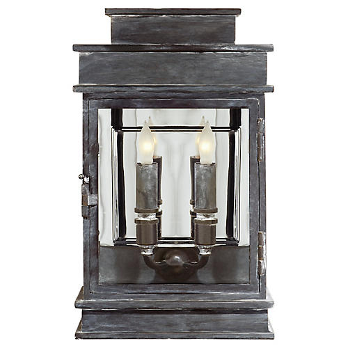 Two-Bulb Outdoor Linear Wall Lantern, II