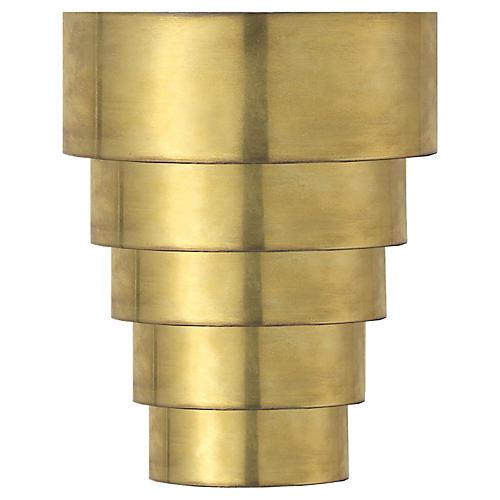 Micah Sconce, Antiqued Brass