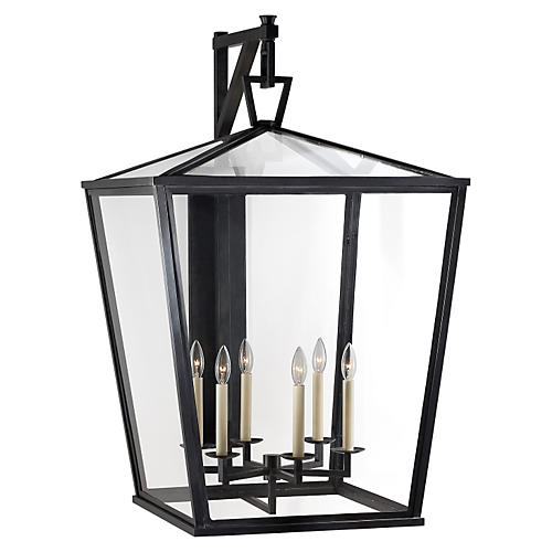 Darlana Outdoor Bracket Lantern, Bronze