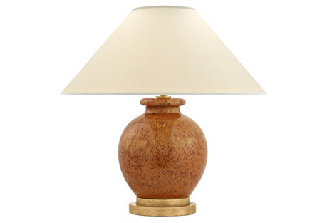 Chang Accent Table Lamp, Shanghai Brown