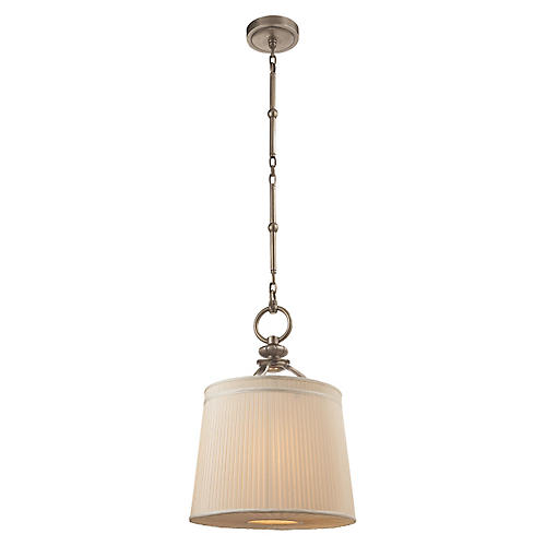 D'Arcy Small Hanging Pendant, Nickel