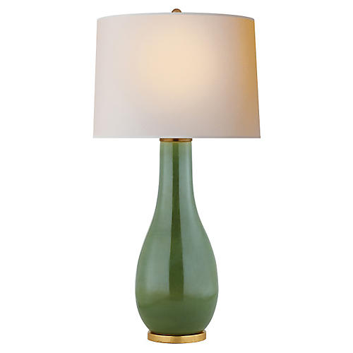Orson Balustrade Table Lamp, Kiwi