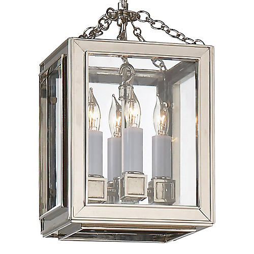 Lund Lantern, Nickel/Clear