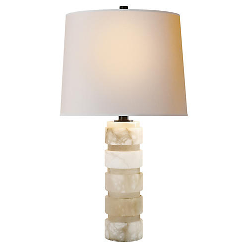 Coyle Table Lamp, Alabaster