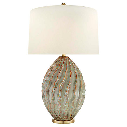 Dianthus Large Table Lamp, Desert Rain
