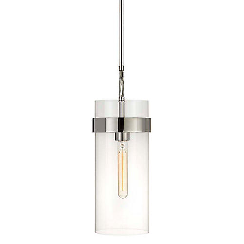 Presidio Small Pendant, Polished Nickel