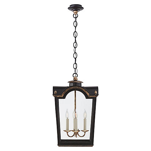 Brinkley Small Lantern, Old Black Tole