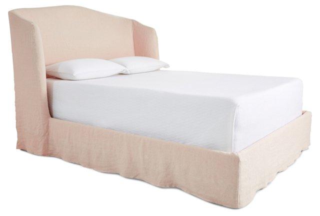 Rose Emma Slipcover Bed, King