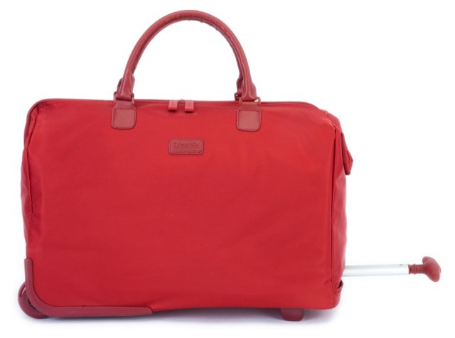 "20"" Wheeled Satchel, Red"