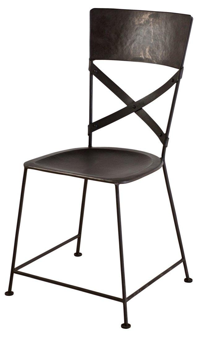 Jabalpur Dining Chair, Zinc