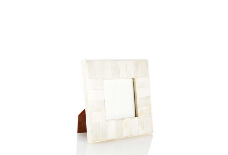 4x4 White Bone Frame