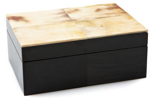 "7"" Horn Box, Black"