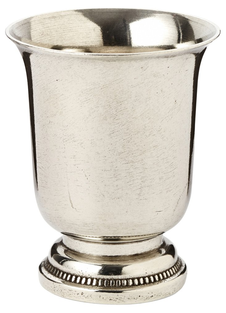 "3"" Pewter Mint Julep Cup, Silver"